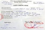 Hướng dẫn về cấp giấy chứng sinh cho trẻ sinh ngoài bệnh viện