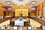 Ủy ban Thường vụ Quốc hội thông qua dự thảo Nghị quyết về việc điều chỉnh Chương trình xây dựng luật, pháp lệnh 2019