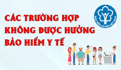 &n=khonghuongBHYT - NHỮNG TRƯỜNG HỢP KHÔNG ĐƯỢC BHYT THANH TOÁN