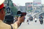 Mức phạt lỗi chạy quá tốc độ quy định từ 05 km/h đến dưới 10 km/h