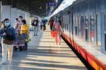 Điều kiện đi tàu đối với hành khách từ ngày 13 - 20/10/2021