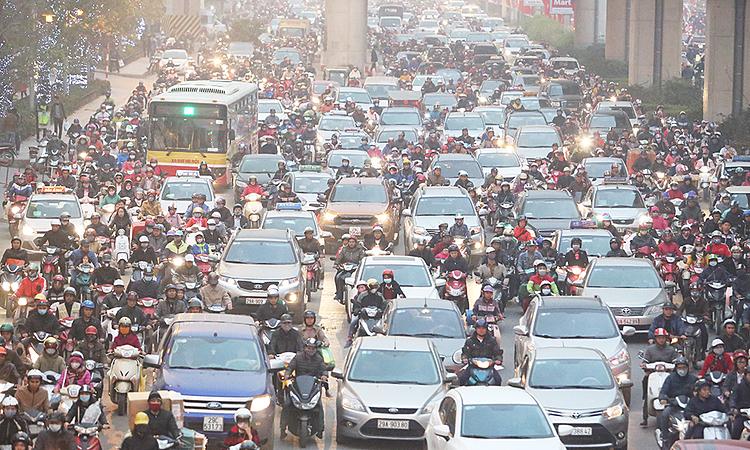 Hệ số phát thải của ô tô, xe máy