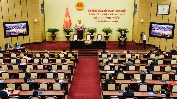 Hướng dẫn thí điểm bố trí đại biểu hoạt động chuyên trách của HĐND TP.Hà Nội