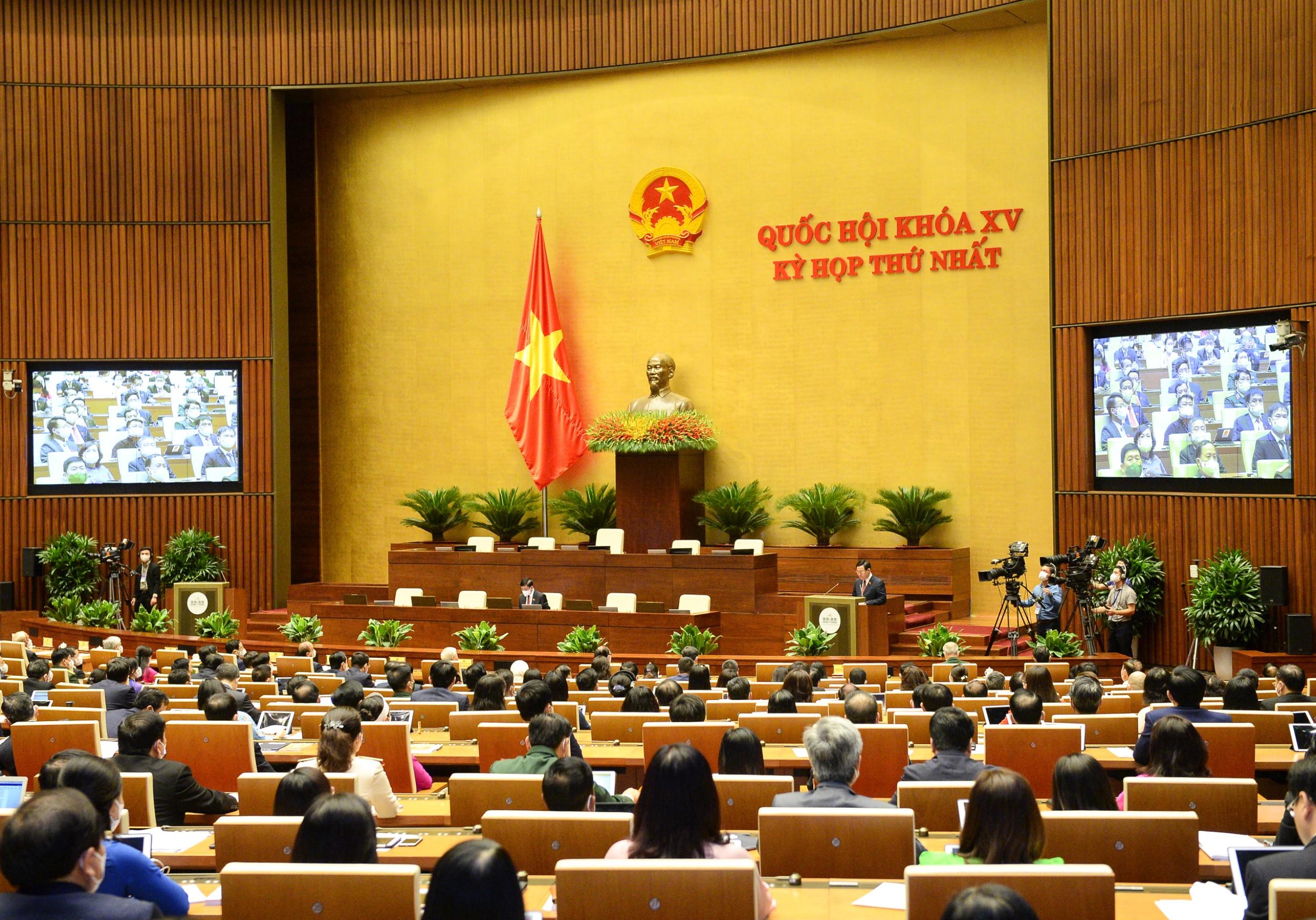 Kỳ họp thứ nhất, Quốc hội khóa XV