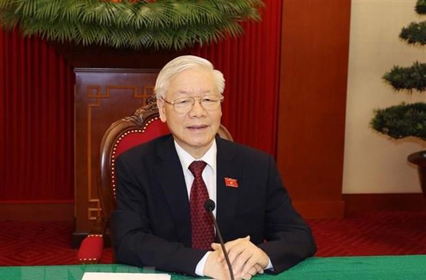 Tổng Bí thư Nguyễn Phú Trọng ký ban hành Nghị quyết về đổi mới tổ chức và hoạt động của Công đoàn Việt Nam trong tình hình mới