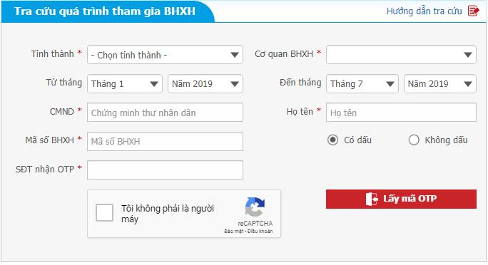 Cách Tra cứu thông tin BHXH